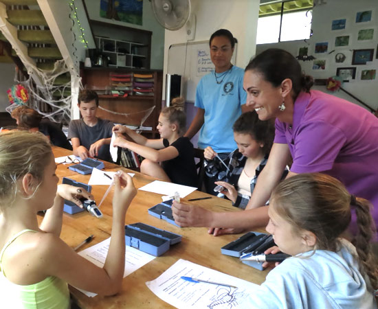 Keiki Outreach & Education by Hawai'i Wildlife Fund