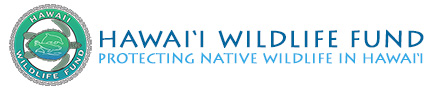 Hawai'i Wildlife Fund Logo